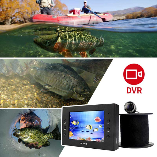 2019 Erchang Fish Finder Underwater Fishing Camera 3 5 Inch 1000tvl Waterproof Video Underwater Camera Infrared Lamp Ice Fishing From Cloudyday
