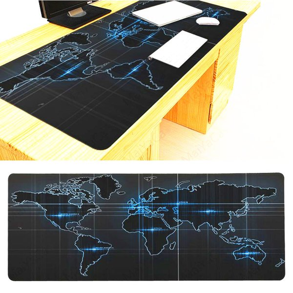 90 40cm azul mapa negro