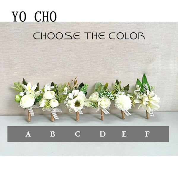 Artificial & Dried Flowers Yo Cho Berries Rose Bridesmaid Sisters Hand Flowers Wedding Party Bridal Prom Artificial Succulent Bridal Wrist Corsage Bracelet