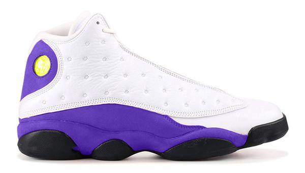 13s Lakers Rivals баскетбольные кроссовки мужская обувь лучшее качество с коробкой 13s Laker