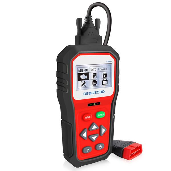 OBDII ODB2 EOBD Car Diagnostic Scanner 12V Battery Tester Check Engine Engine Automotive Code Reader Too