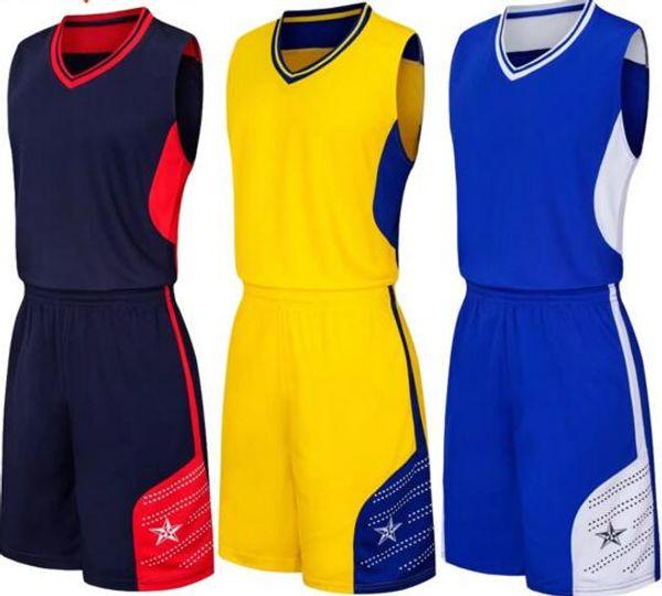 оптовые Настроенные мужчин Баскетбол Униформа, мужские наборы Костюмы спортивные костюмы, скидка Дешевые мальчика Баскетбол наборы топ с шортами