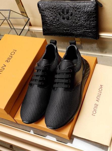 2019 черная воздухопроницаемая сетка повседневная обувь 2022 гуан мужчины кроссовки ботинки ботинки водоотталкивающие застежки сандалии сандал
