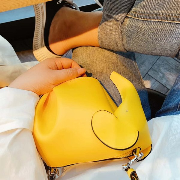 Lady Womens Designer Shoulder Bag Luxury Shoulder Bag Brand Cross Body Cute Fresh Yellow Black B100739Z