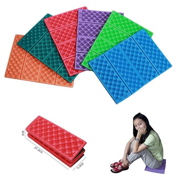 Outdoor Camping Foam Pad Travel Mats Cushion Folding Foam Seat Waterproof Portable Moisture-proof Hiking Picnic Seat
