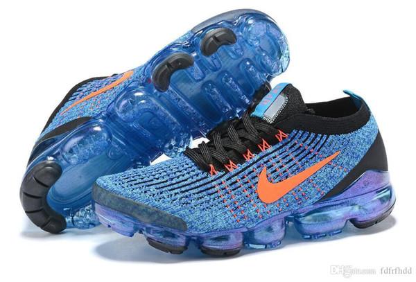 2019 Nike vapormax TN Plus Hombres Zapatillas de running Triple Negro Blanco Foto de Sunset Blue Wolf Gray EE. UU. Zapatos de diseño Zapatillas