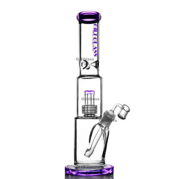 Gili-113 purple with quartz banger