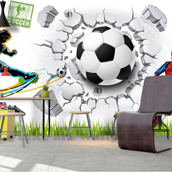 Custom modern Wall Mural Wallpaper 3D Sport Art Wall Painting Living Room Bedroom TV Background Photo Wallpaper Football