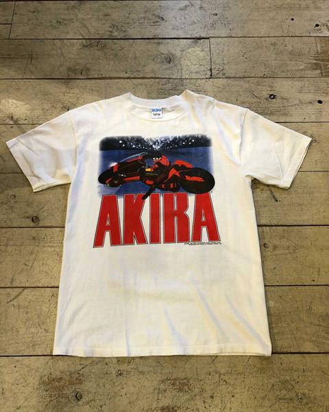 T-shirt à capuche hip hop Vintage des années 80 1988 AKIRA Anime Japan Shirt