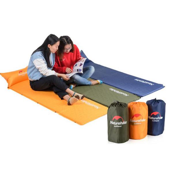 Uyku Yatak Kendinden Şişen Ped Yastık ile Taşınabilir Yatak Kamp Açık Hava Etkinliği Su Geçirmez Uyku Tulumları ZZA727