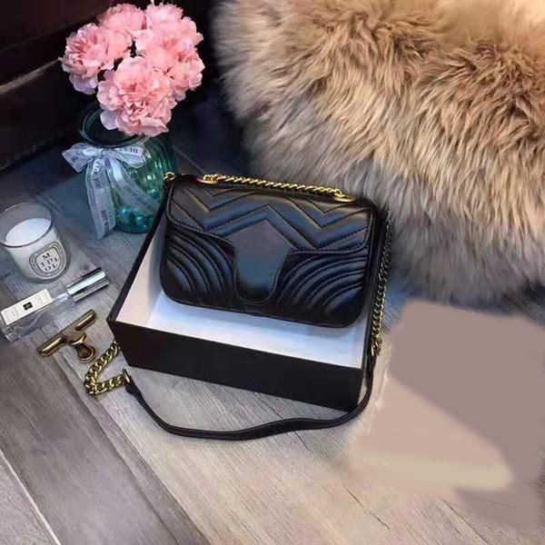 2019 sac vente chaude sacs à bandoulière messager femmes sacs à main de créateurs de luxe crossbody chaîne de bonne qualité PU sacs à main en cuir dames sac à main