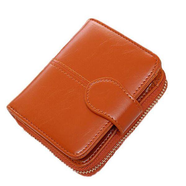 Multifunction PU Leather Coin Purse Women Small Wallet Change Purses Coin Women Wallets Zipper Short Purses Holders