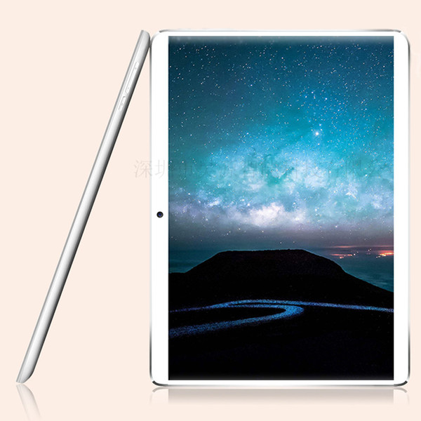 10.1 inch 10 Core 4GB RAM 32GB ROM android 7.0 tablet PC 4G LTE 1920*1200 IPS 2.5D Glass 3G WCDMA Camera 5mp tablets 10.1+Gifts