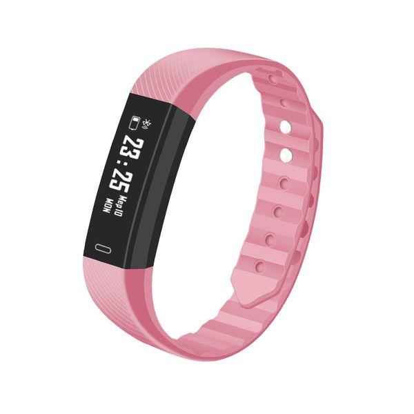ID115HR Smart Bracelet Watch Blood Pressure Heart Rate Monitor Smart Watch Fitness Tracker Waterproof Smart Wristwatch For IOS Android