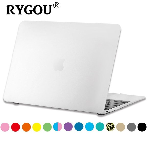 "RYGOU Rubberized Slim Hard Matte Case Cover for 2015 New MacBook 12 inch with Retina Display laptop Bag for Mac Book 12"" Retina #32775"