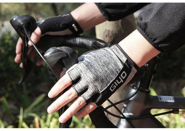 Гийо велосипед Велоспорт гель половина перчаток короткий палец Спортивные перчатки спортивные упражнения Тяжелая атлетика бодибилдинг обучение