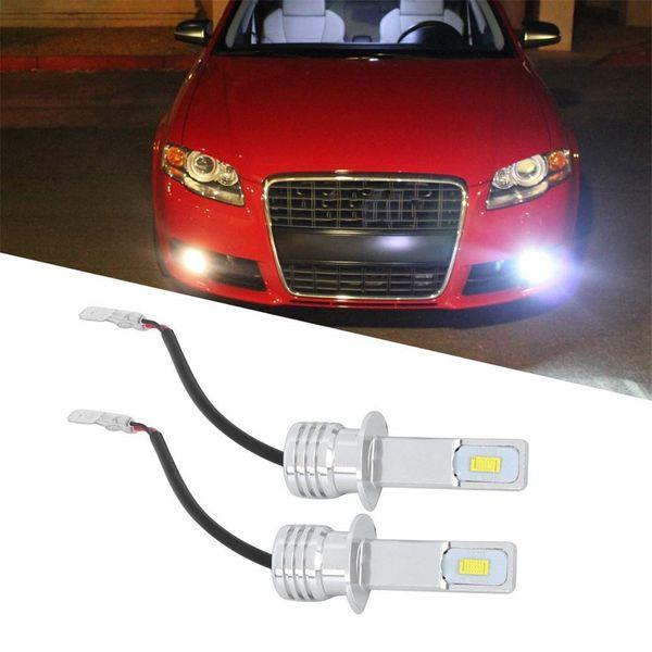 2pcs H1 80W 6000K CREE LED Headlight Headlamp Bulbs Car Fog Tail DRL Light