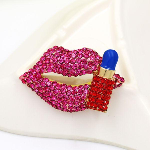 pink lipstick lip