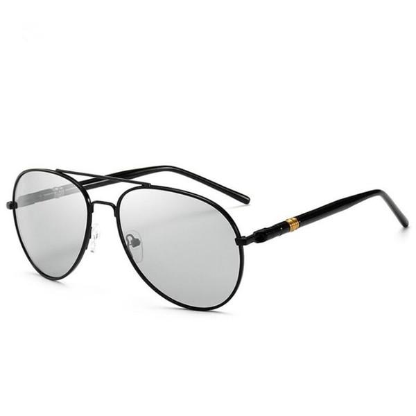 Photochrome Sonnenbrille Männer Frauen fahren Tag und Nacht Designer Brillen Unisex Sonnenbrillen Radfahren Blitzglas polarisierend