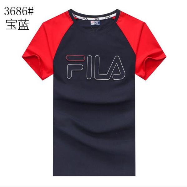 Camiseta de manga corta de verano, versión coreana para hombre de la camiseta de manga corta para hombre con cuello redondo, ropa de vestir de camiseta delgada.