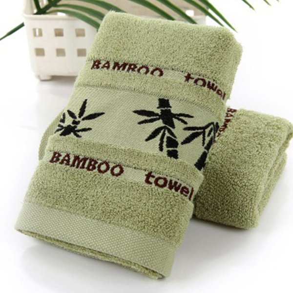 New Pattern Bamboo Fiber Towel Hand Face Bamboo Tower 34 x 75cm