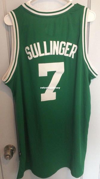 Pas cher en gros Jared Sullinger Jersey Hommes cousus AD # 7 gilet T-shirt cousu maillots de Basketball Ncaa