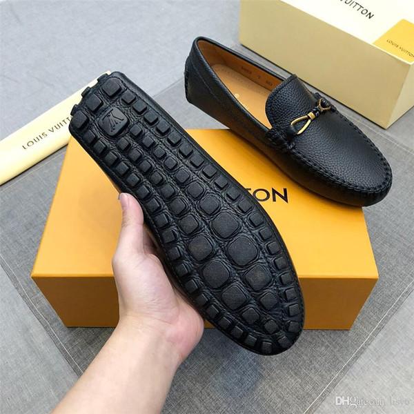 20ss Marcas Famosas Sapatos de Noivo Homens Sapatos de Vestir Mens Vestido de Sapatos de Presente Ponto de Metal Densidade de Borracha Dual Density Spikes Brown Men