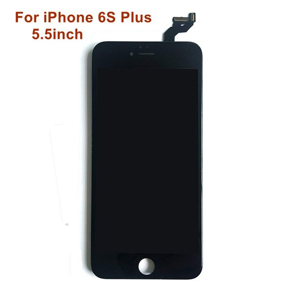 For iPhone 6S Plus Grade A+++ LCD Touch Screen 5.5inch Display Assembly Replacement Part & Free DHL Shipping Black and White