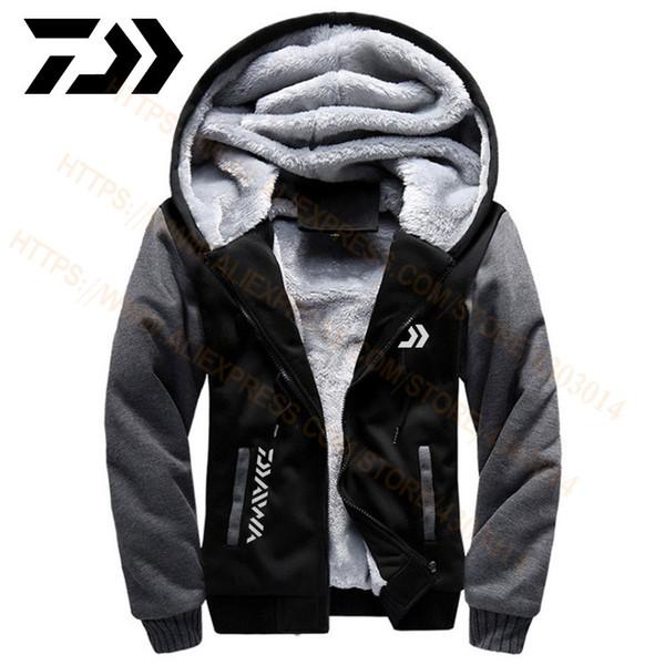 Großhandel 2020 Angeln Kleidung Hoodies Outdoor Sweatshirt Mit Kappe Lose Fleece Warme Jacke Männer Angeln Kleidung Mit Kapuze Von Carlt, $31.75 Auf