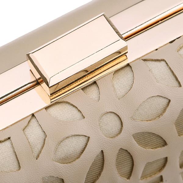 xiniu Evening Clutch Bags Bolso de noche con tachuelas de diamantes con bolso de hombro con cadena Bolsos de mujer Carteras # 0521