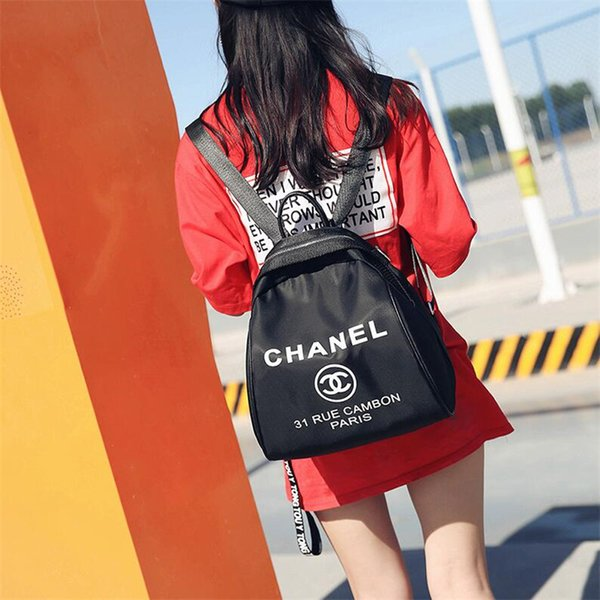 Personality Letter Printed Girls Buffel Bags Holiday Street Style Female Brand Shouldes Bags Trendy Design Women Handbags