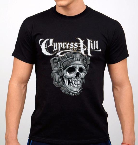 Cypress Hill Rock Band T-shirt Black New Hip Hop Novelty Brand Clothing Mans Unique Cotton Short Sleeves O-Neck T Shirt