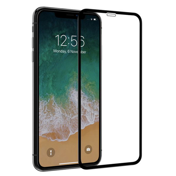 Full Cover Tempered Glass for iphone X XS MAX XR 7 8 Plus 6 6s 5 5s Screen Protector Film For Huawei P30 Lite Mate 20 Lite P20 Pro Nova 4E 4