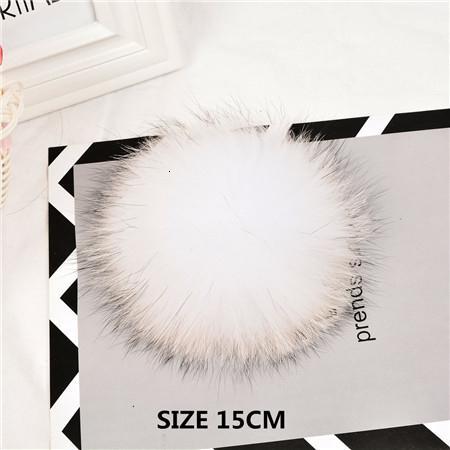 white 15cm