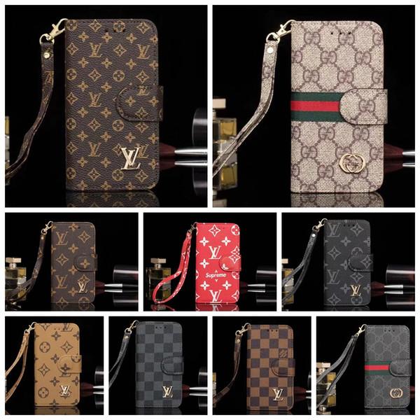 Fa hion brand phone ca e for am ung 10 10plu 8 9 plu note8 note9 leather de igner phone cover for iphone x x xr x max 7 8 plu 05