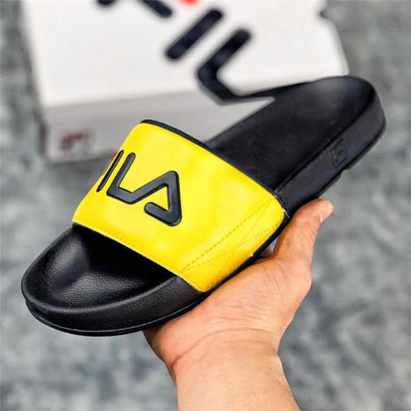 pantofole multicolori all'ingrosso per gli uomini e le donne sandali di moda unisex all'ingrosso estate scarpe da spiaggia scivolo taglia 36-45