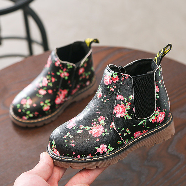 Children Fashion Boys Girls Martin Sneaker Winter Thick Snow Baby Casual Shoes new spring bay shoes infants fashion