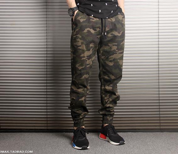 Yeni Varış Erkek Pantolon Moda Kamuflaj Koşu Pantolon Bayan Fermuar Tulum Işın Ayak Pantolon Düzensiz Joggers Pantolon