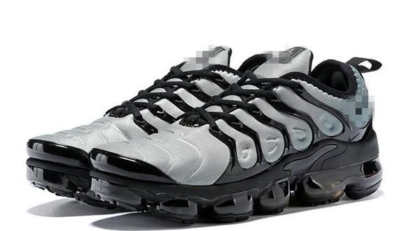 Лучший TN Plus мужские кроссовки Волк серый закат ультра белый черный тройной черный дизайнерский бренд спортивные кроссовки дешевые