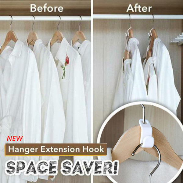 Dropshipping Closet Hanger Wonder Space Saver Extension magique Crochet Vêtements 6pcs Rack