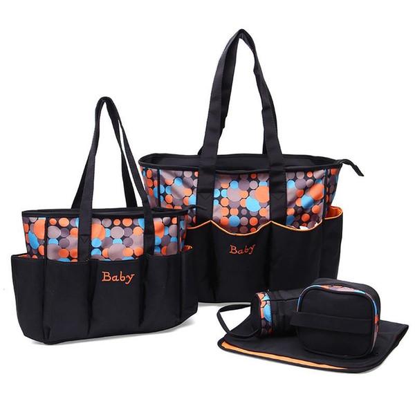 IMBABY 5 Stück Wickeltasche Rucksack Wickeltaschen Rucksack für Mama Wet Bag großes Baby für Mama Mutterschaft Baby Rganizer