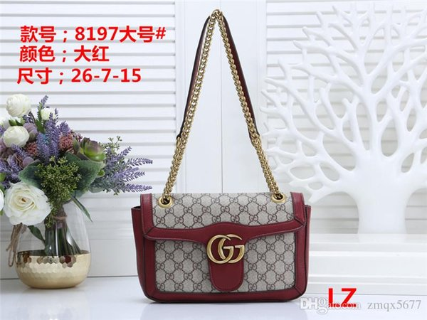 2019A8Design Women's Handbag Ladies Totes Clutch Bag High Quality Classic Shoulder Bags Fashion Leather Hand Bags Mixed order handbags