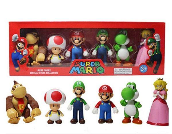 Action Figures Tv Movies Video Games Super Mario Bros Bowser