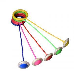 Çocuk LED Flaş Atlama Halkası Yaratıcı Renkli Dans Topu Parlayan Spor Eğitici Oyuncaklar Komik Oyun Açık Spor LJJV127
