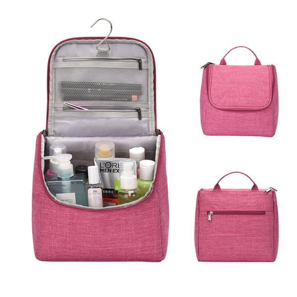13916bc06 Viaje impermeable portátil mujeres organizador cosmético bolsa colgar bolsas  de lavado hombre bolsa de aseo lindo