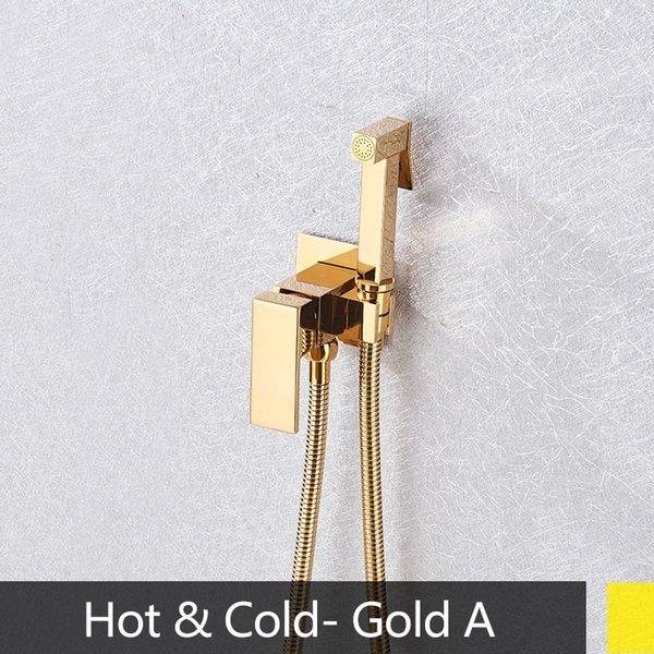 중국 금 뜨거운 차가운