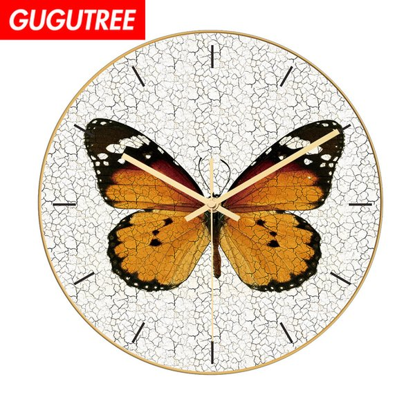 Decorate Home 3D number mirror clock art wall sticker decoration Decals mural painting Removable Decor Wallpaper G-31