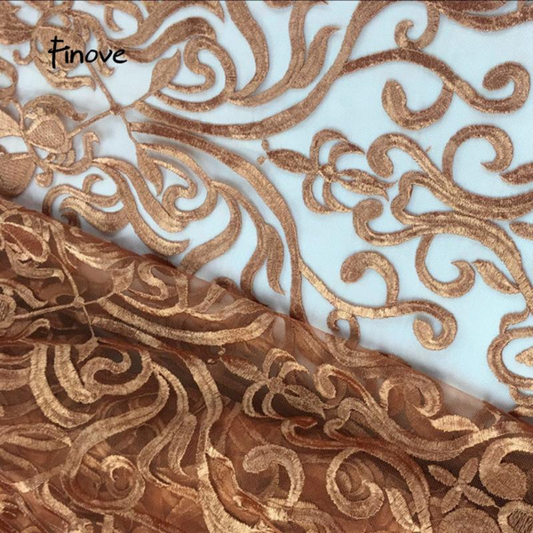 best selling African Lace Fabric Embroidery Design 2020 High Quality Fabric For Wedding Dresses Women Dress