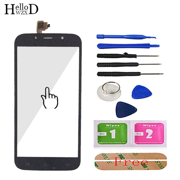 10PCS 5.5inch Touch Screen For UMI ROME UMI ROME X TouchGlass Touch Screen Front High Digitizer Panel Glass Adhesive