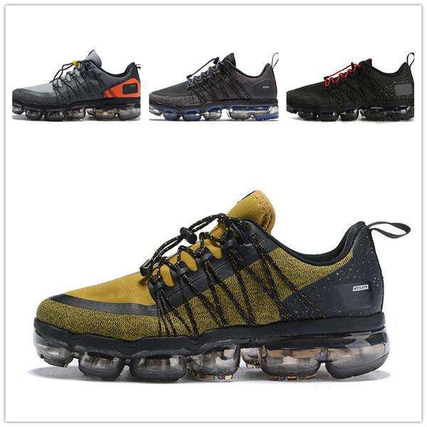 Designer men shoes Nike vapormax women 2019 hommes Run Utility Black Anthracite chaussures de course pour hommes triple Burgundy Crush baskets de designer baskets de sport Medium